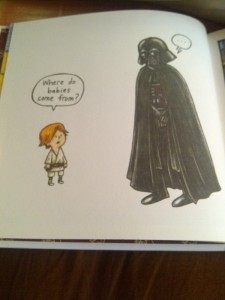 the everlasting question. face it, vader!