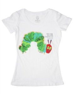 A Very Hungry Caterpillar, one of my fave children's books.